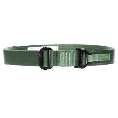 Fusion Tactical Police Riggers Gun Belt Type D Medium 33-38 X 1.75 Green