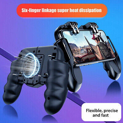 Game Controller Joystick Cooling Fan Gamepad for PUBG Android IOS Mobile Phone