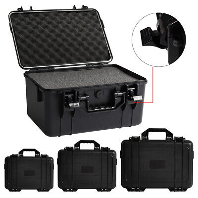 Hard Carry Case Box Camera Protect ABS Protective Equipment Removable Foam
