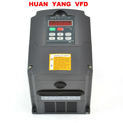 Cnc Variable Frequency Drive Inverter Vfd 1.5kw 380v 2hp Huan Yang Brand