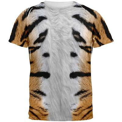 Halloween Tiger Costume All Over Adult T-Shirt](Halloween Tiger Costume)