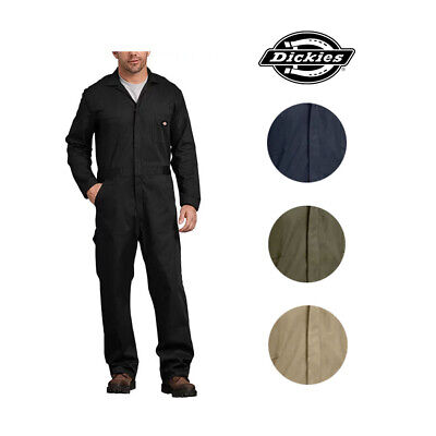 Dickies Men's Work Wear Long Sleeve Waist Stretch Cotton Comfortable Coveralls Clothing, Shoes & Accessories