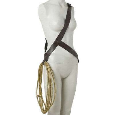 Wonder Woman Costume Accessories Lasso (Wonder Woman Diana Prince Costume Props Turth Rope String With Belt)