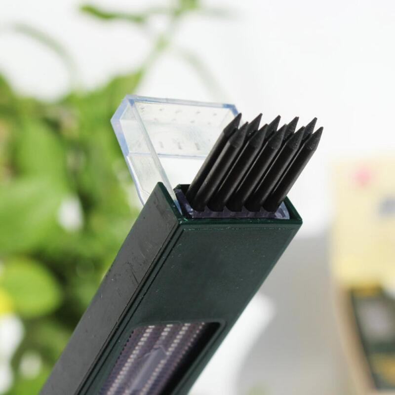 1 Box 2mm 2B HB Black 2.0mm Mechanical Pencil Lead Refill 12