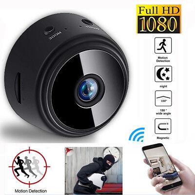Mini Spy IP Camera  Wireless WiFi HD 1080P Hidden Home Security Cam Night Vision