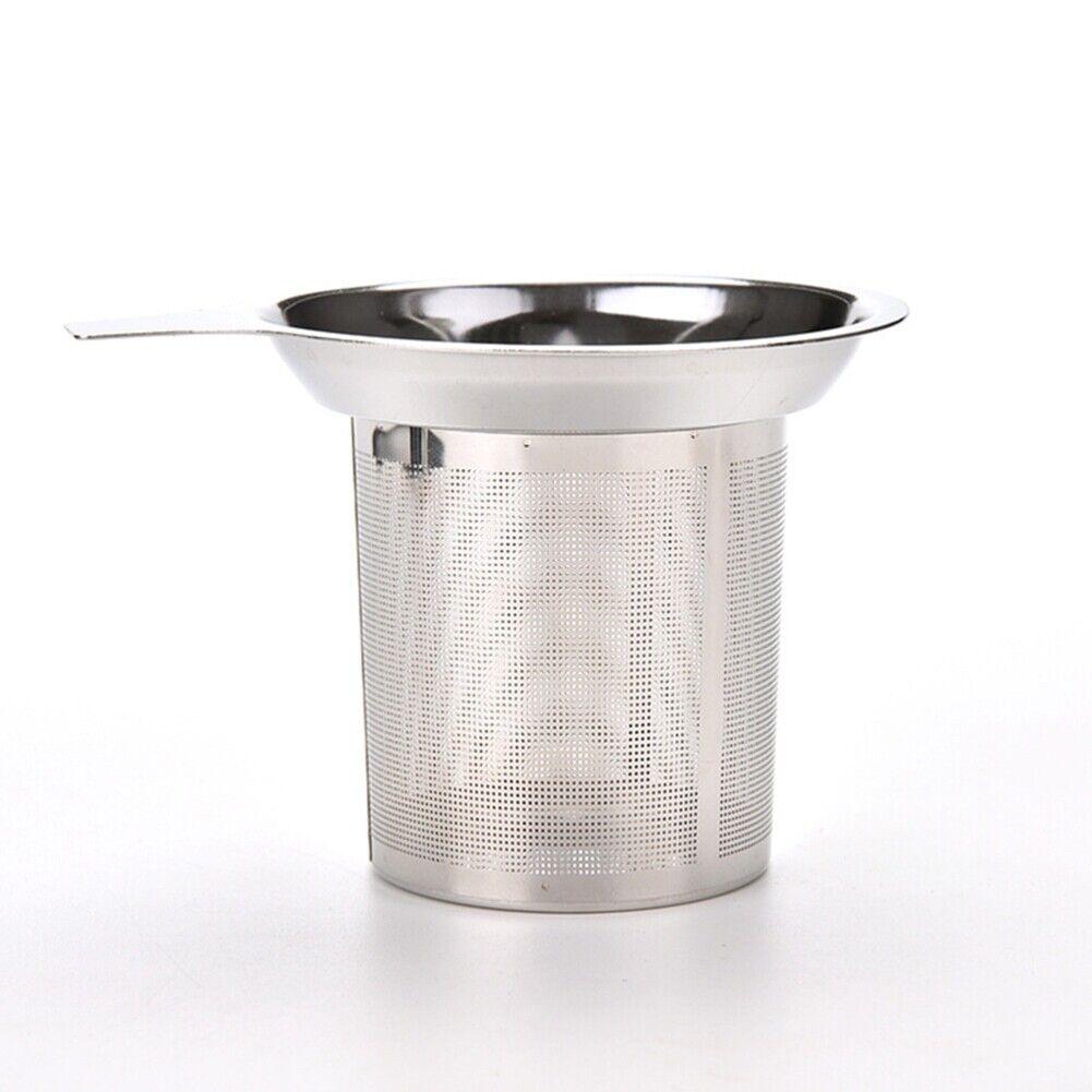 Edelstahl 304 Japan Fein Mesh Tee Infuser Fine Wiederverwendbare-Sieb Z7H2 K6G1