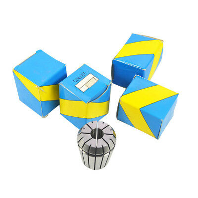 5pcs Super Precision Collet Er20-18 Cnc Mill Chuck Top Quality