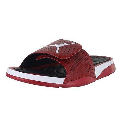 7c8ad89e3 ... UPC 886916954282 product image for Jordan Hydro 5 Slide 820257-601 Gym  Red White Black ...