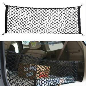 Car Trunk Rear Cargo Organizer Storage Net Elastic Nylon Hammock Holder Mesh New