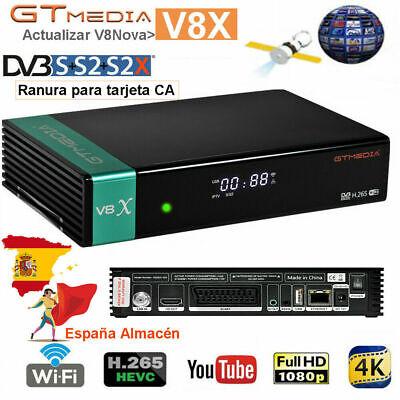Upgrade GTMedia V8 Nova V8X Receptor de Full HD DVB-S2/S2X Satellite Tv...