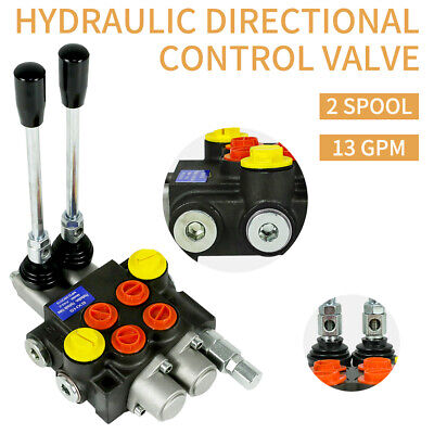 2 Spool Hydraulic Flow Directional Control Valve For Agricultural Machine