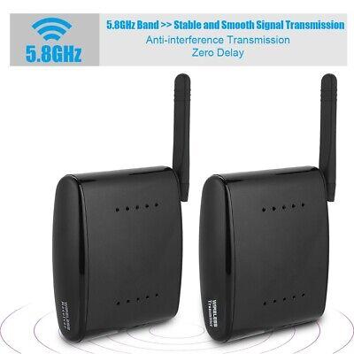 5.8G HDMI AV Wireless Audio Video DVD Sender Empfänger Set 24 Kanäle TA 02