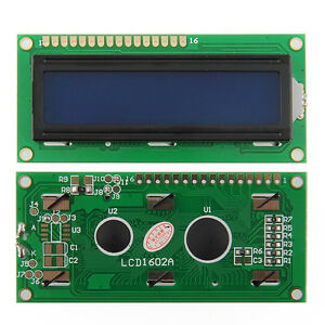 Hot LCD Display Character Module LCM 16x2 HD4478Controller Blue Blacklight 1602