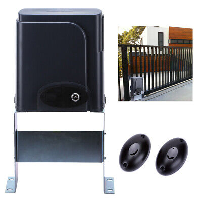 Automatic Driveway Gate Openers - Automatic Sliding Gate Opener Kit with Photocell Sensor Chain Driveway AC motor