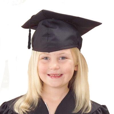 Child Size Black Graduation Cap - Black Graduation Cap