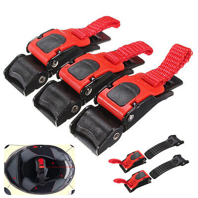 3Pcs Motorcycle Bike Helmet Chin Strap Safety Buckle Clip Quick Release Buckle Apparel & Merchandise
