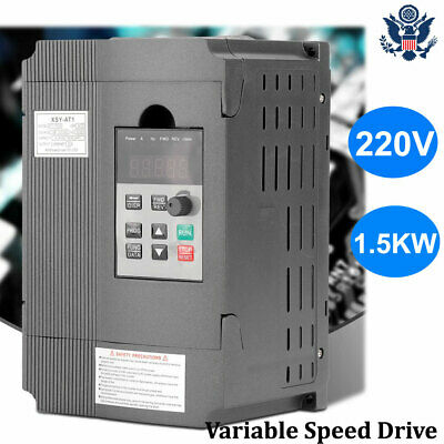 1.5kw Vfd 8a 220v Single-phase Variable Speed Drive Inverter Motor Drive New