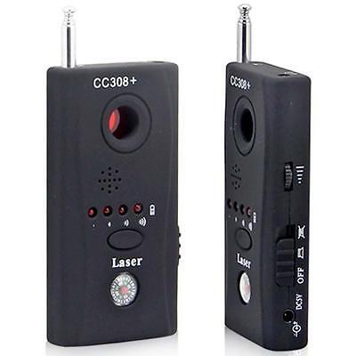 CC308+ Anti-Spy Signal Bug RF Detector Hidden Camera Lens GSM Device Finder QU