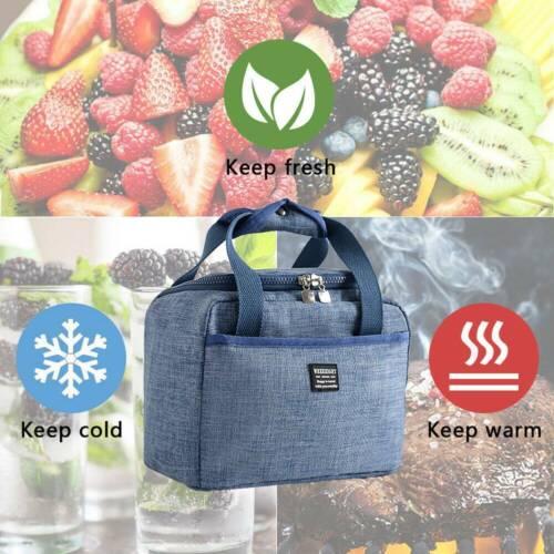 Adult Child Storage Bento Cooler Bag Insulated Food Storage