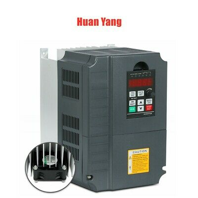 Genuine Huanyang 7.5kw 220v 10hp Variable Frequency Drive Inverter Vfd 34a Cnc