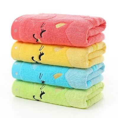 Soft Cotton Baby Infant Newborn Bath Towel Washcloth Feeding Wipe Cloth Healthy