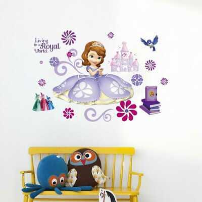 Prinzessin Sofia die Erste Princess Wandtattoo Sticker Wand Deko Aufkleber