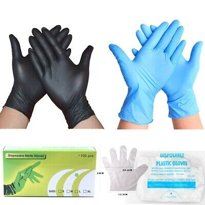 Nitrile Glove Pvc Rubber Gloves Powder Free Durable Mechanic Waterproof