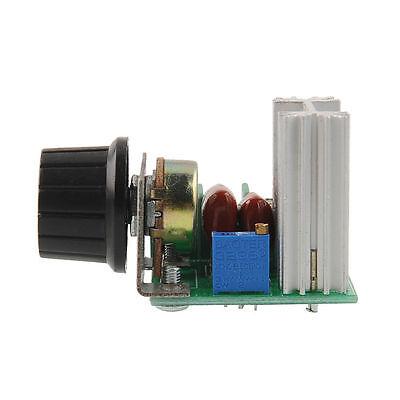 New 2000w Ac 50-220v 25a Adjustable Motor Speed Controller Voltage Regulator Aa