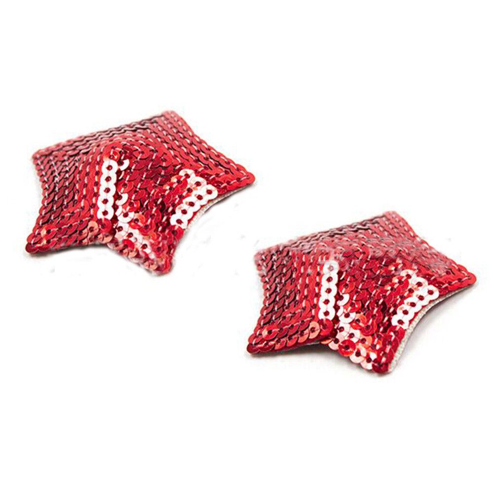 Damen Pailletten Quaste Brust Aufkleber Brustwarzen Abdeckung Nippelcover Pads