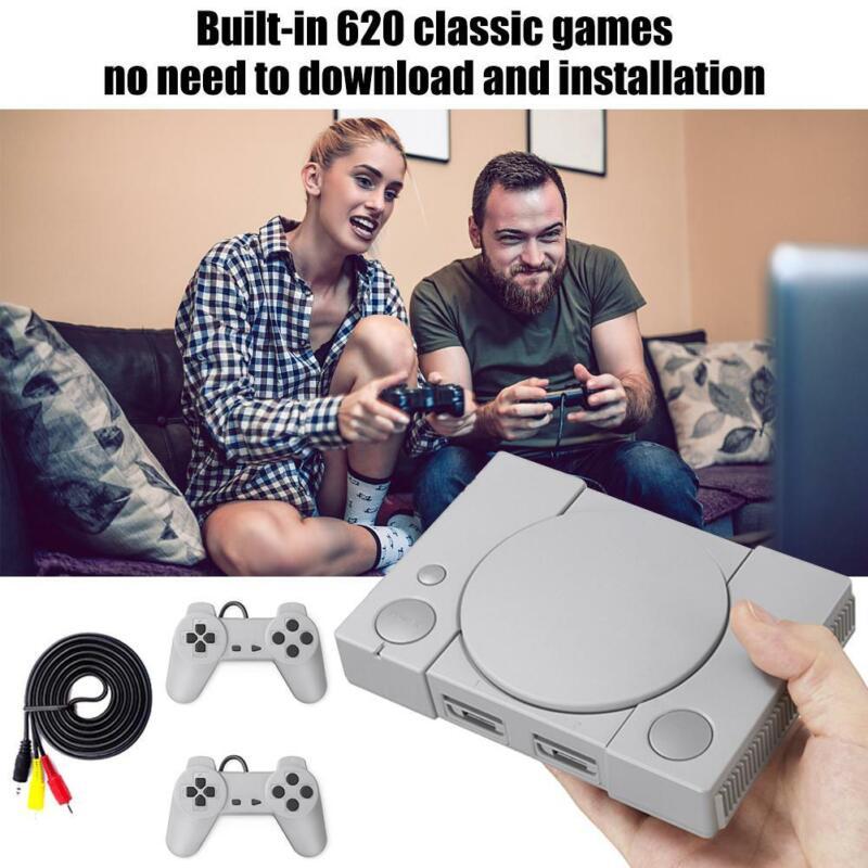 620 Spiele Video Classic Mini Spiel Konsole für NES Retro TV AV Out Gamepad DE