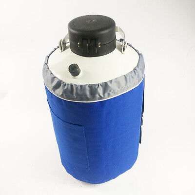 3l Liquid Nitrogen Tank Cryogenic Container Ln2 Dewar 6pcs Pails Lock Cover
