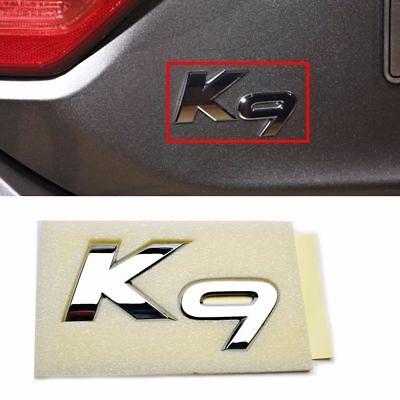 OEM Parts K9 Logo Trunk Lid Emblem Badge For 2013- K900 K9 Quoris