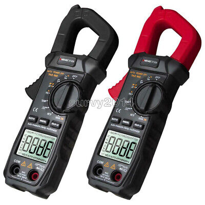 Aneng St209 Clamp Meter Digital Multimeter Acdc Voltage Lcd Current Tester