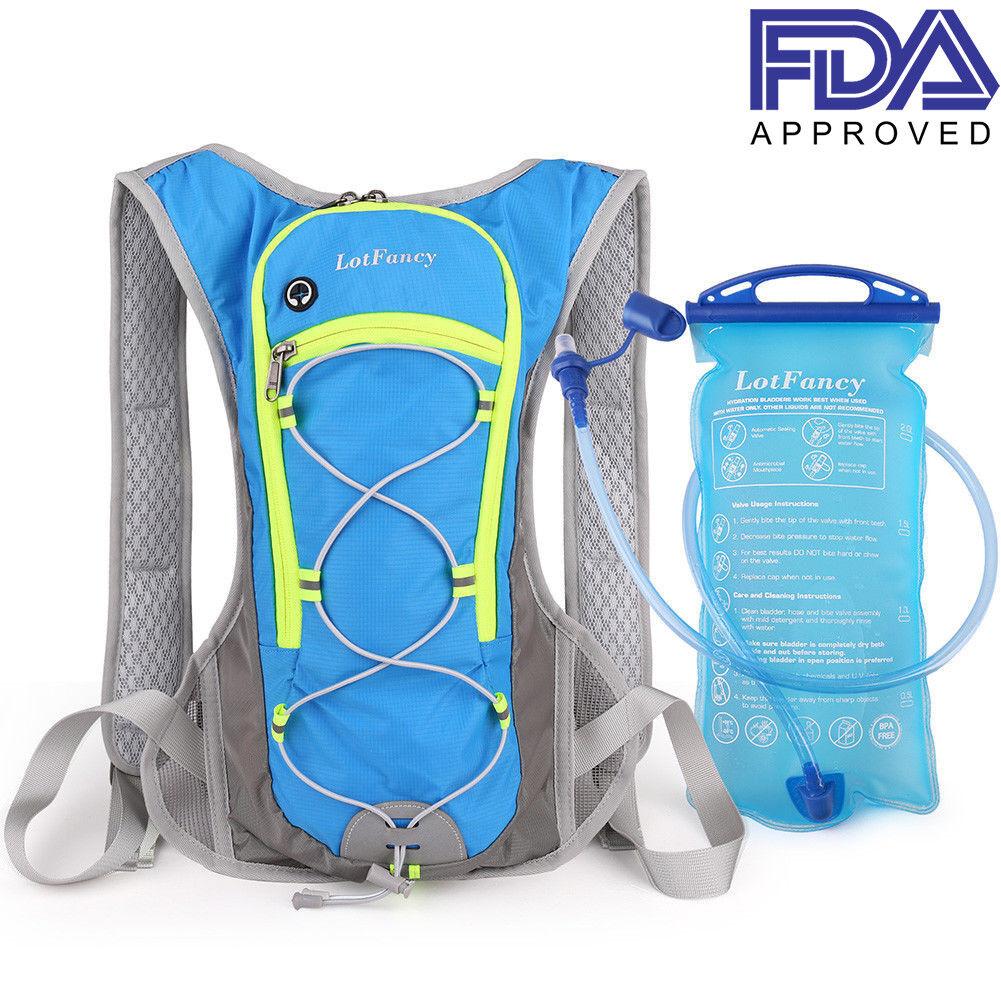 Cycling Bag Bike Hydration Backpack Water Bladder Running Hiking Pouch Climbing