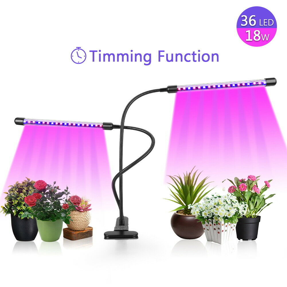 New LED Grow Light Plant Growing Lamp Lights with Clip for Indoor Plants Hydroponics HOMEWOOT Does Not Apply for 13.49.