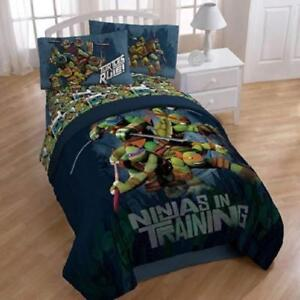 Nickelodeon Teenage Mutant Ninja Turtles Dark Ninja Twin Sheet Set