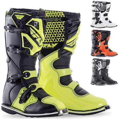 FLY MX ATV Racing Maverik Motocross Boots Dirt Bike Riding Adult&Kids Youth 2018