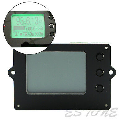 Capacity Tester Indicator Coulometer 8-50V 50A Lithium / Lead-Acid Battery Meter