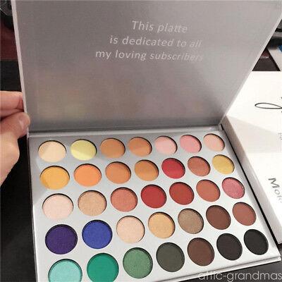 Hot 35 Colors Makeup Eyeshadow Palette Shimmer Matte Eye Shadow Cosmetics Beauty