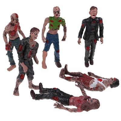 Set 6Pcs Walking DEAD Corpses Movie Characters Action Zombie Figures Kid Toy - Kid Zombie