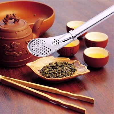 Pro Tea Stainless Steel Drinking For Yerba Mate Straw Bombilla Filter Spoon