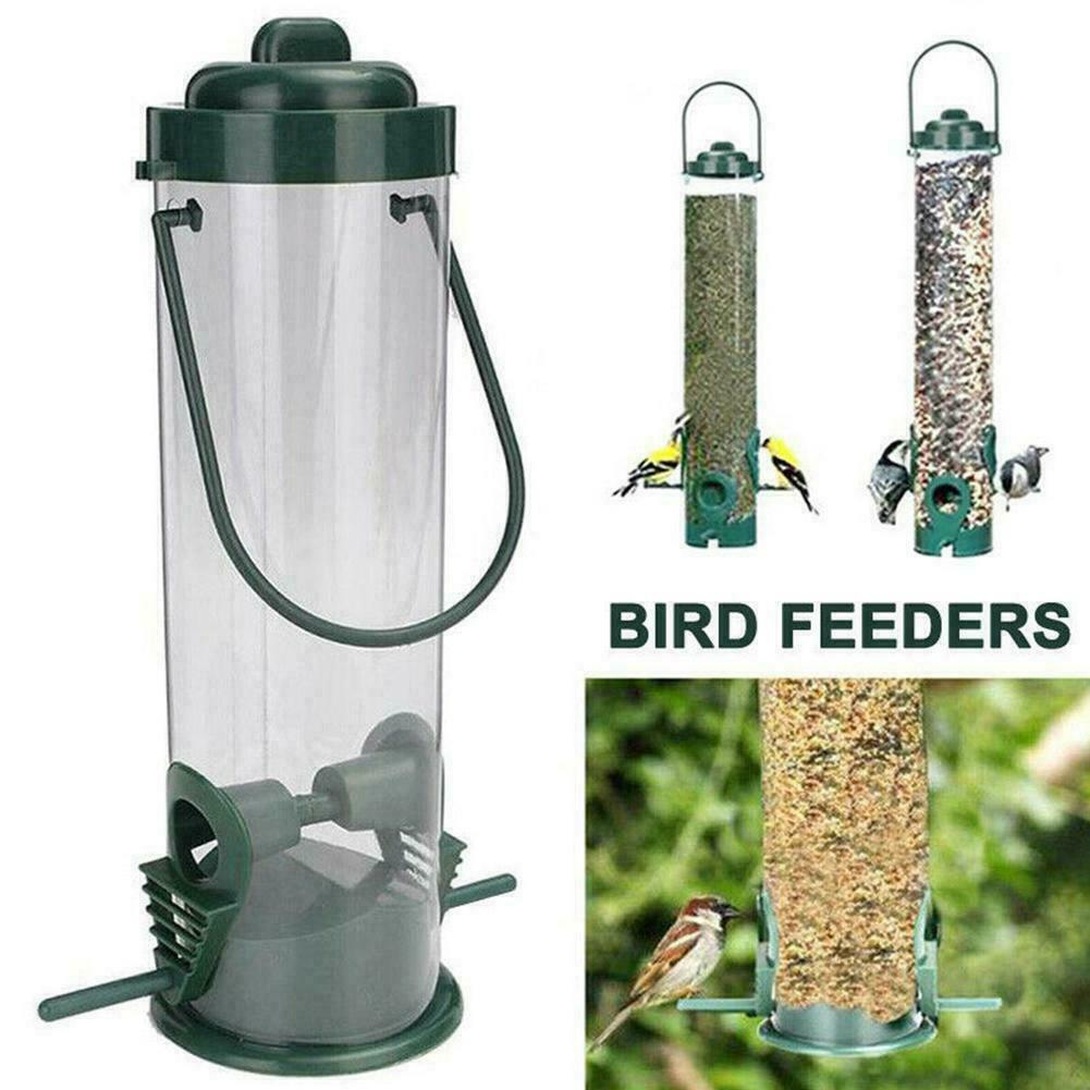 Garden Song Squirrel Proof Wild Bird Feeder Hanging Outdoor Feeder Wildlife F2T9