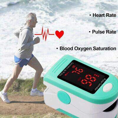 SpO2 PR Fingertip Finger Pulse Oximeter Oxymetre Blood Oxygen Monitor Detector