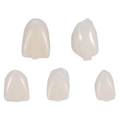 50pcs Resin Dental Teeth Temporary Oral Care Resin Crown Anteriormolar Teeth