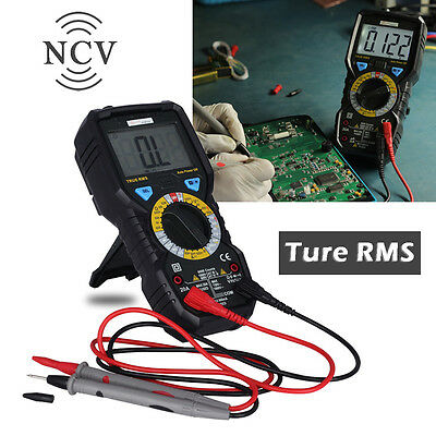 Professional Digital True Rms Multimeter Ammeter Auto Range Tester Acdc Current