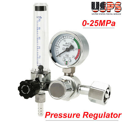 Argon Co2 Mig Tig Flow Meter Regulator Weld Gauge Gas Welder G58-14