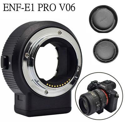 Commlite CM-ENF-E1 PRO V06 Lens Mount Adapter from Nikon F Lens to Sony E-mount