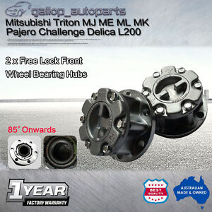 Manual Free Lock Kit Wheel Hubs Mitsubishi Triton ME MJ MK ML Pajero Delica L200