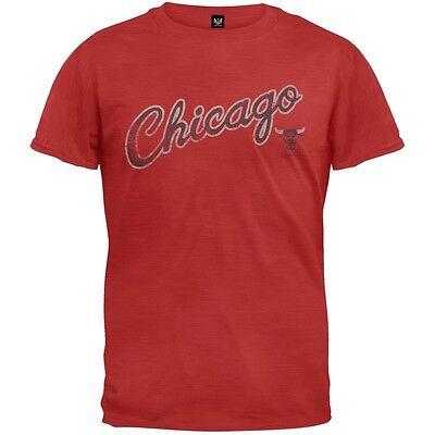 Chicago Bulls - Logo Scrum Premium Adult Mens (Logo Scrum T-shirt)