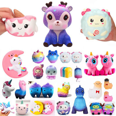 Jumbo Slow Rising Squishies Scented Cute Squishy Squeeze Charm& Toys Collect Lot